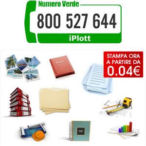 Con iPlott stampa in tutta Italia, servizi di copisteria
